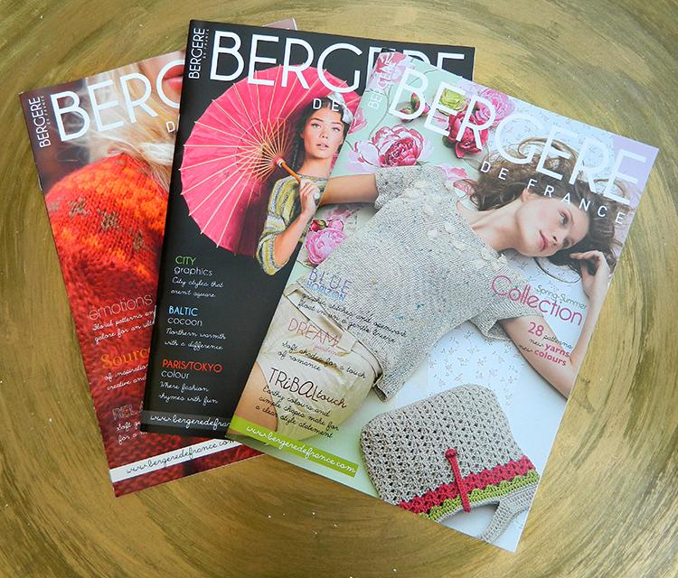 Bergere de France Magazine Strickanleitungen von Bergere de France