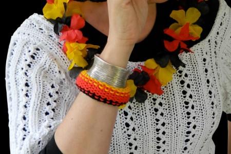 © Die Maschen zum Glück Fan-Armband