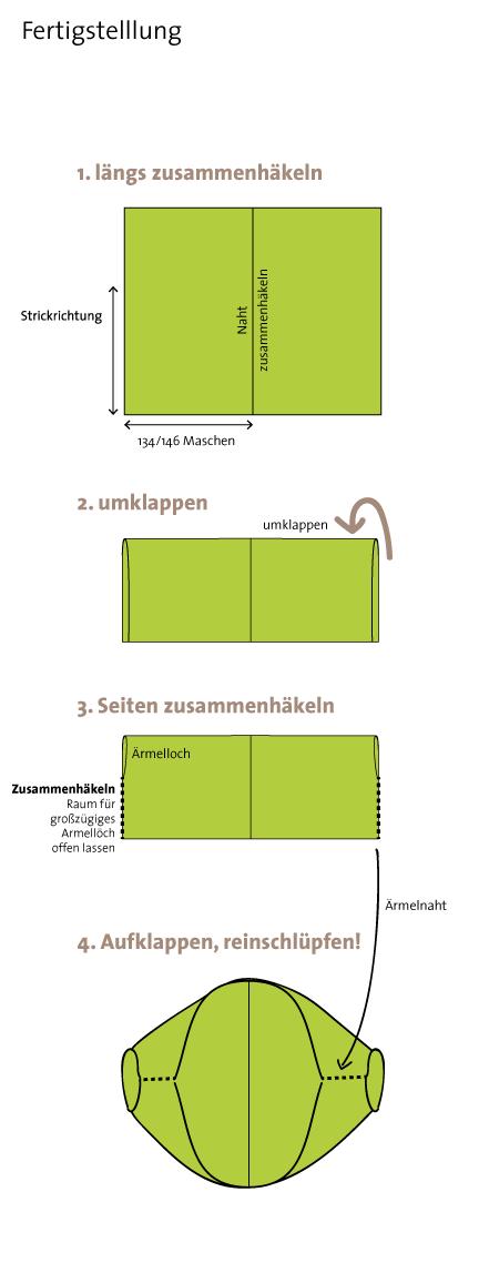 Seelenwärmer XL | © Die Maschen zum Glück