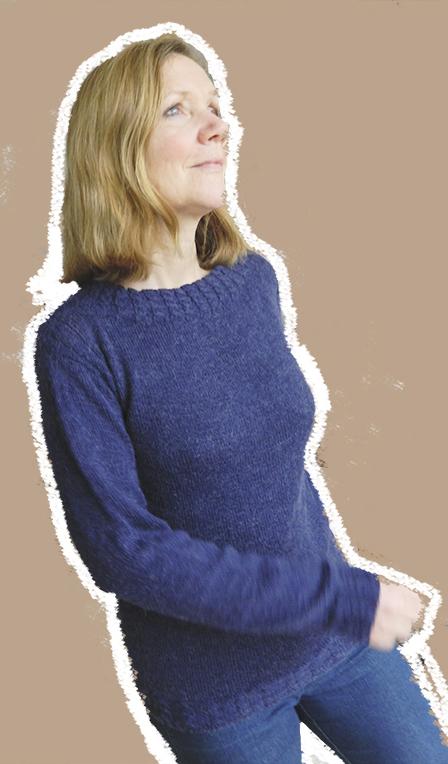 © Die Maschen zum Glück | Pullover mit Zöpfchenbund