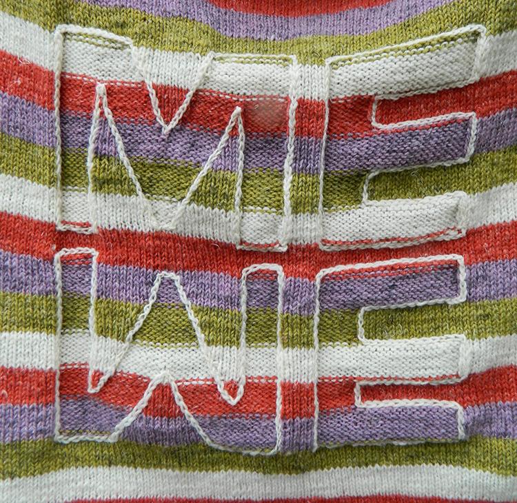 ME-WE Vom Ich zum Wir. Strickanleitung für einen Pullover aus Alb Lino von Schoppel Wolle.